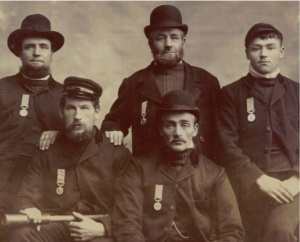 Bridlington Coast Guard, ca.1893