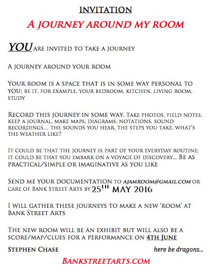 INVITATION to ajamroom